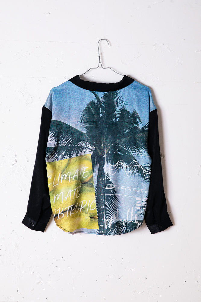 PRINTED SHIRT / BLACK