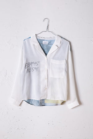 PRINTED SHIRT / WHITE