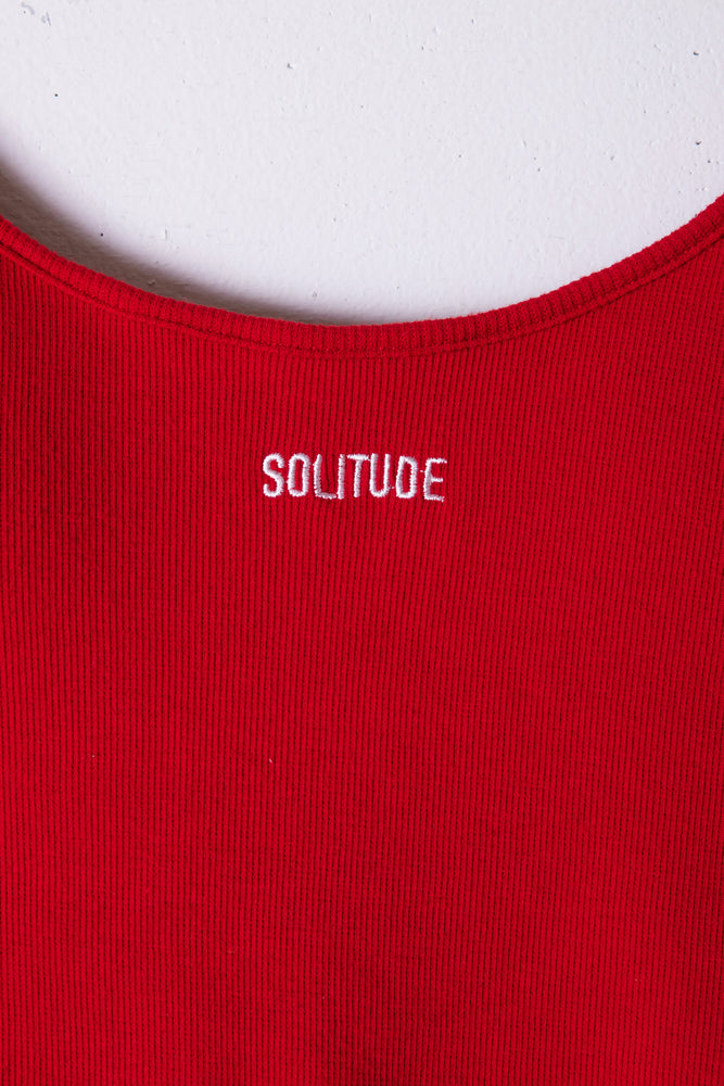 SOLITUDE BODY SUITS / RED
