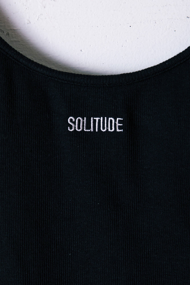SOLITUDE BODY SUITS / BLACK