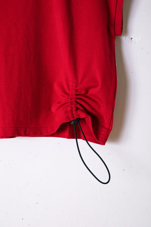 SOLITUDE CROPED TEE / RED