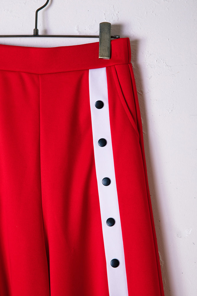CENTER SLIT JERSEY / RED