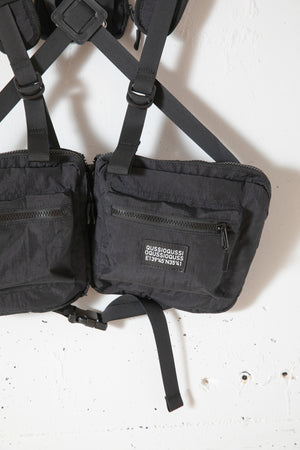 UTILITY BODY BAG / BLACK