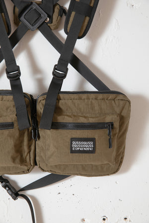 UTILITY BODY BAG / KHAKI
