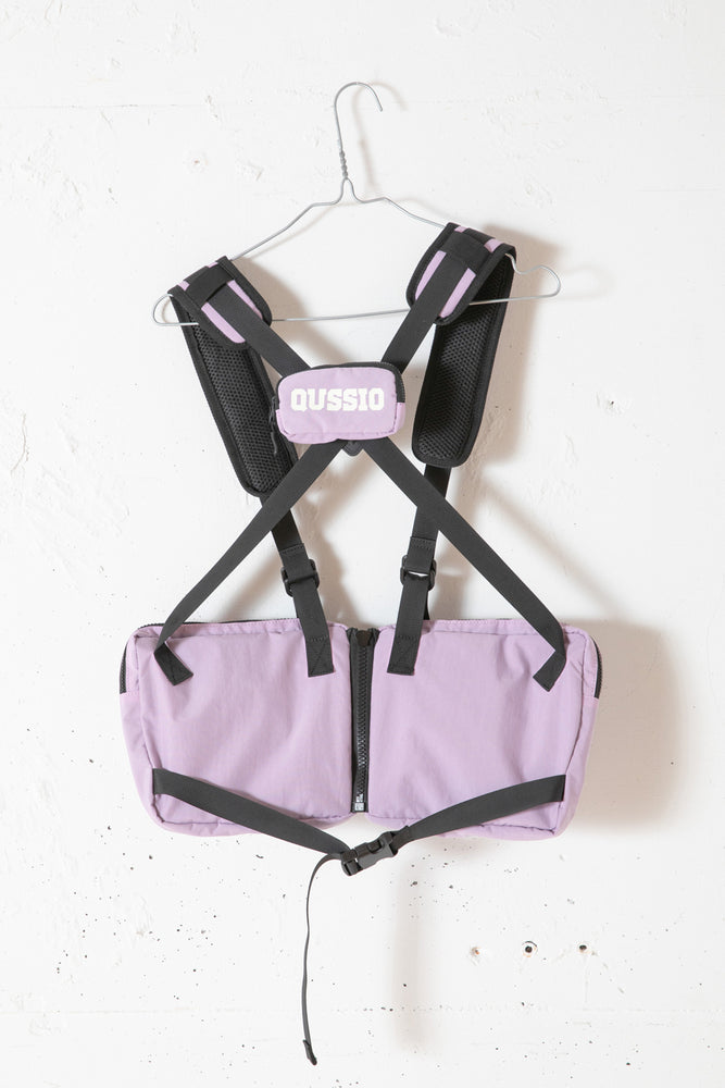 UTILITY BODY BAG / PURPLE