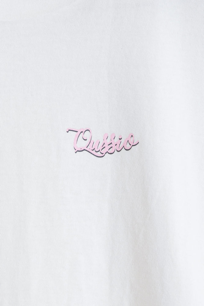 MILKSHAKE PHOTO PRINT TEE / WHITE