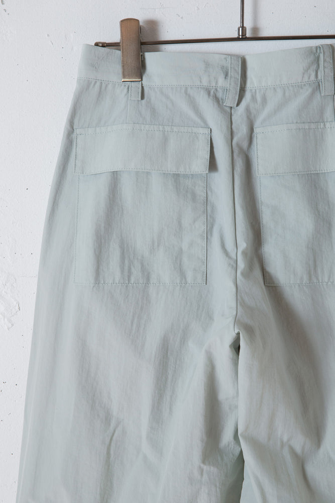 UTILITY NYLON PANTS / MINT