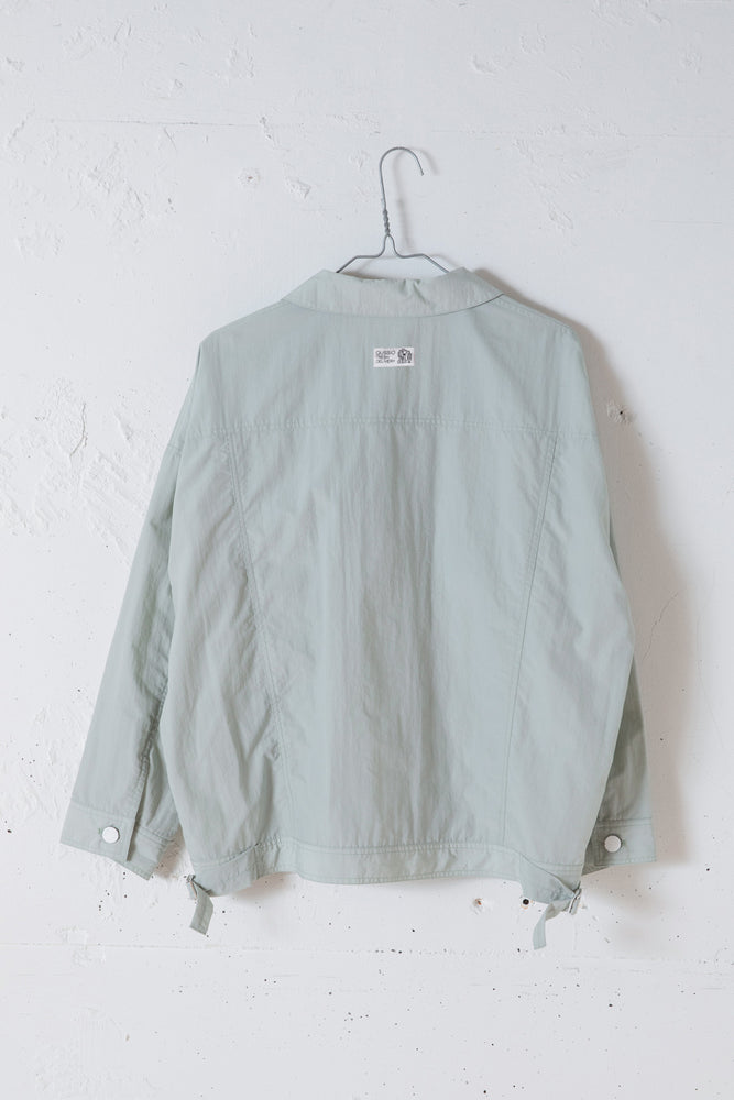WRINKLE NYLON JACKET / MINT
