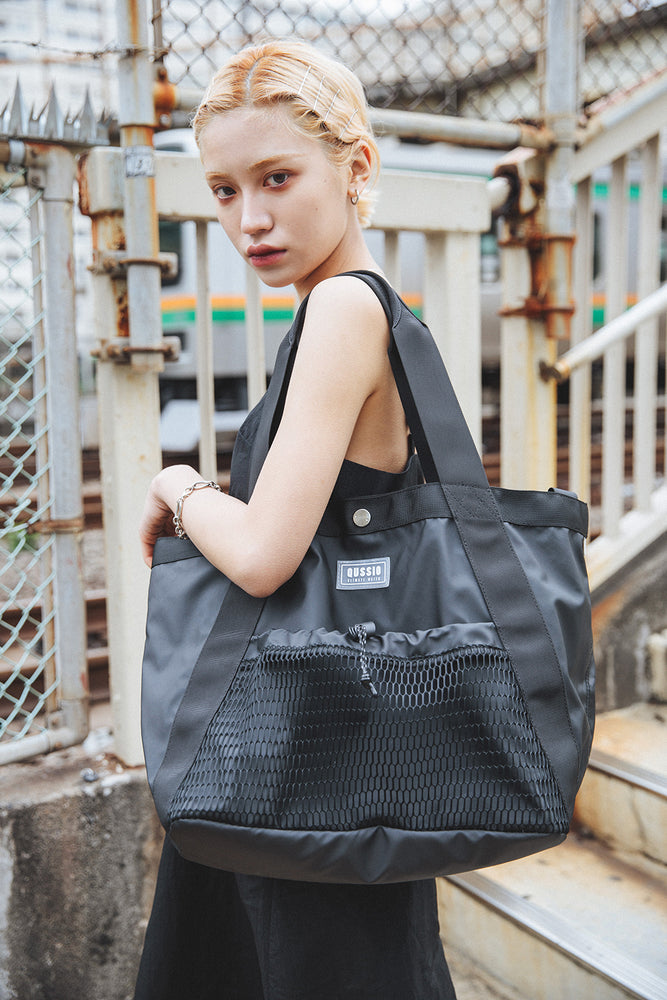 【Notive×Qussio】WATER PLOOF TOTE BAG / BLACK