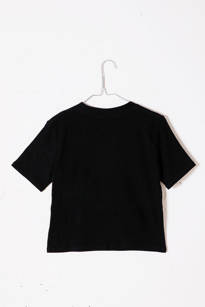 QUSSIO MINI TEE / BLACK