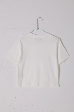 QUSSIO MINI TEE / WHITE