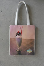 MILKSHAKE PRINT 2WAY TOTE BAG / MINT