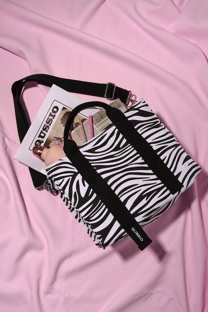 ZEBRA 2WAY TOTE BAG
