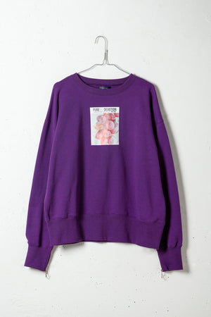 SLIDE SLEEVE FRUITS SWEAT PO / PURPLE