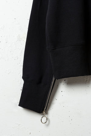 SLIDE SLEEVE FRUITS SWEAT PO / BLACK