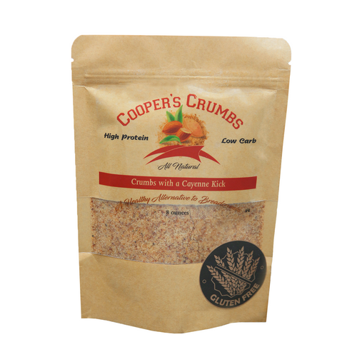 Crumbs With A Cayenne Kick