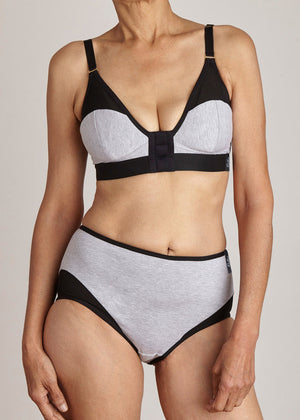 Elba Essential Bra in Earl Grey