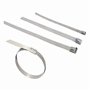 4.6 x 300mm Stainless Steel cable tie (pack of 100 pcs)