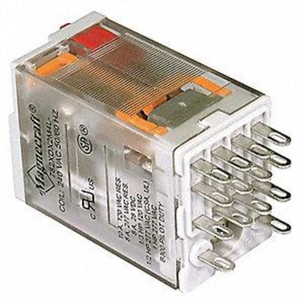 Finder DPDT Non-Latching Plug in Relay  230VAC Coil, 10 Amp
