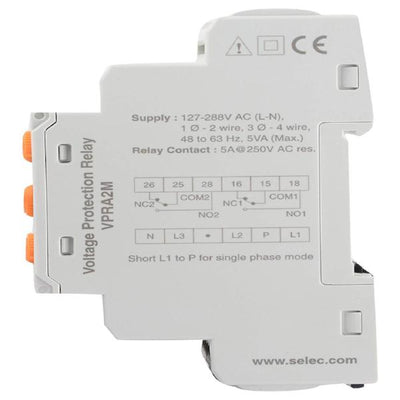 Selec VPRA2M Analog Voltage Protection Relay