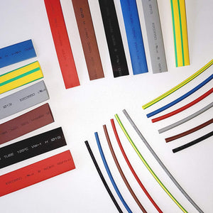 Heat Shrink Rubber Sleeves Tubing Shrink Black 1.5MM to 120MM in Red,Yellow,Blue,Black,Green & Yellow/Green