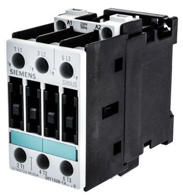 Siemens Sirius 3RT1035-1AP00 40 AMP, 3-pole contactor with a 240v AC coil