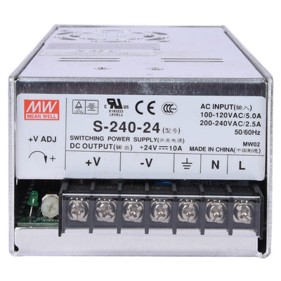Switching Power Supply S-240 In VOLT 110-240V Out 24VDC