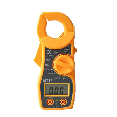 Digital Electric Clamp Meter Multimeter AC DC Current Volt Amp Tester Test