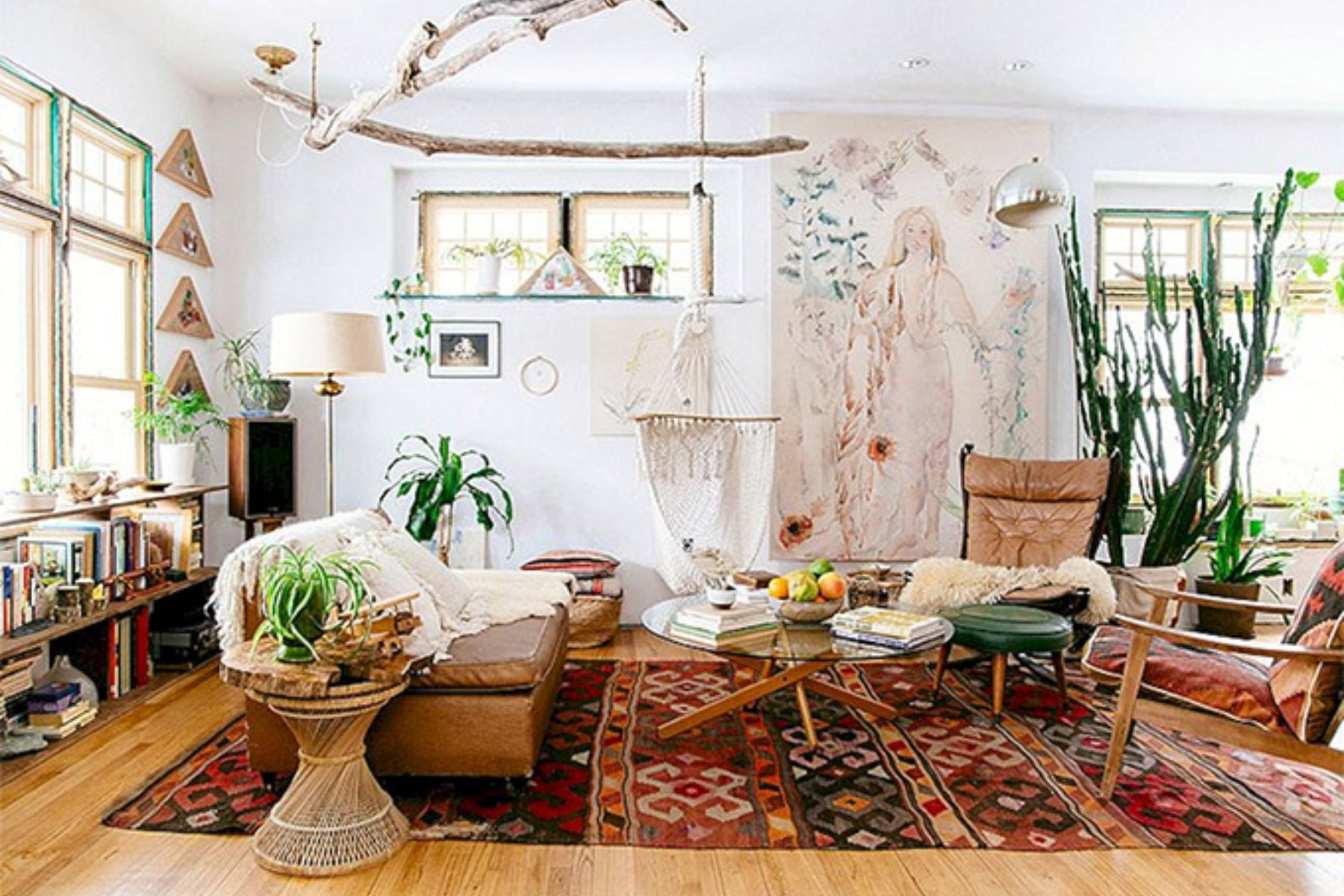Styling Revival Ceramics in a Bohemian Space