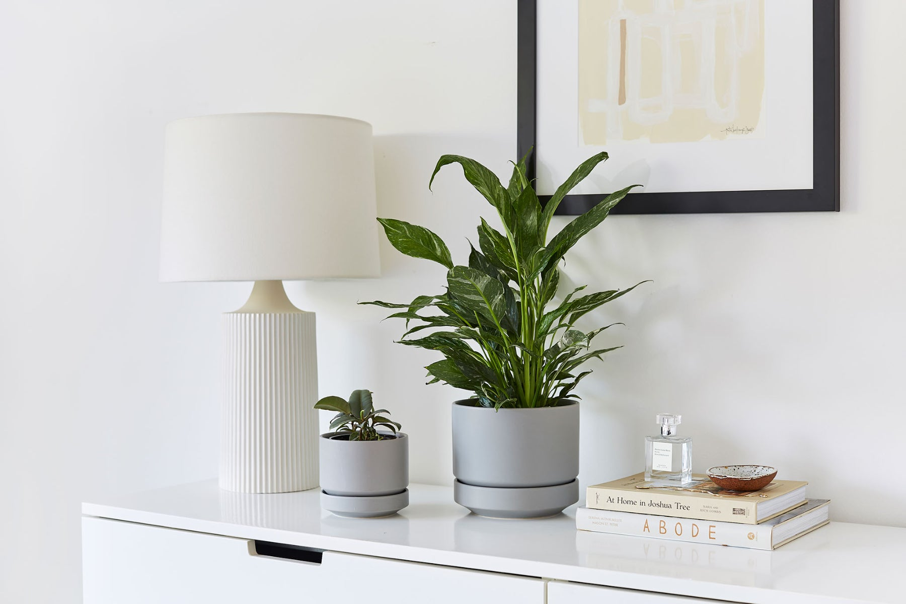 Styling Revival Ceramics in a Minimalist Space