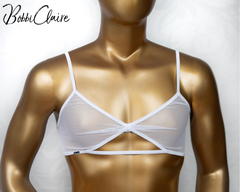 Sheer Innocence - Bralette for Men