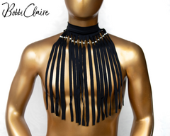 Fringe Neckpiece for Men