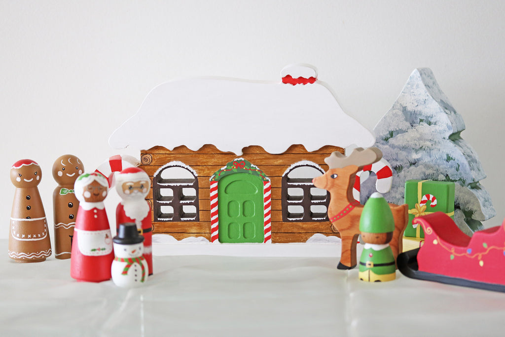 Wooden Advent Calendar - SOLD OUT