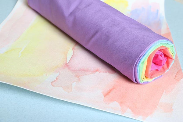 Cotton Playcloths (Blossom Cloths) - Rainbow