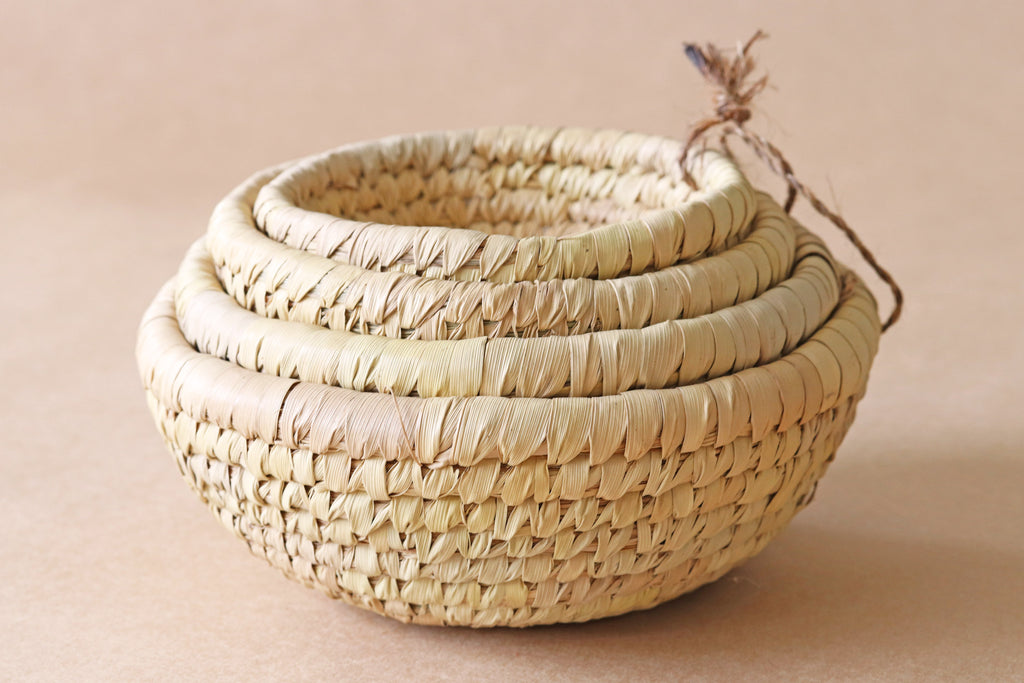 Small Round Baskets (set of 4)