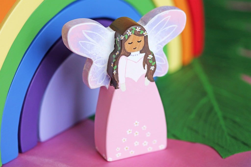 Solid Wooden Fairy