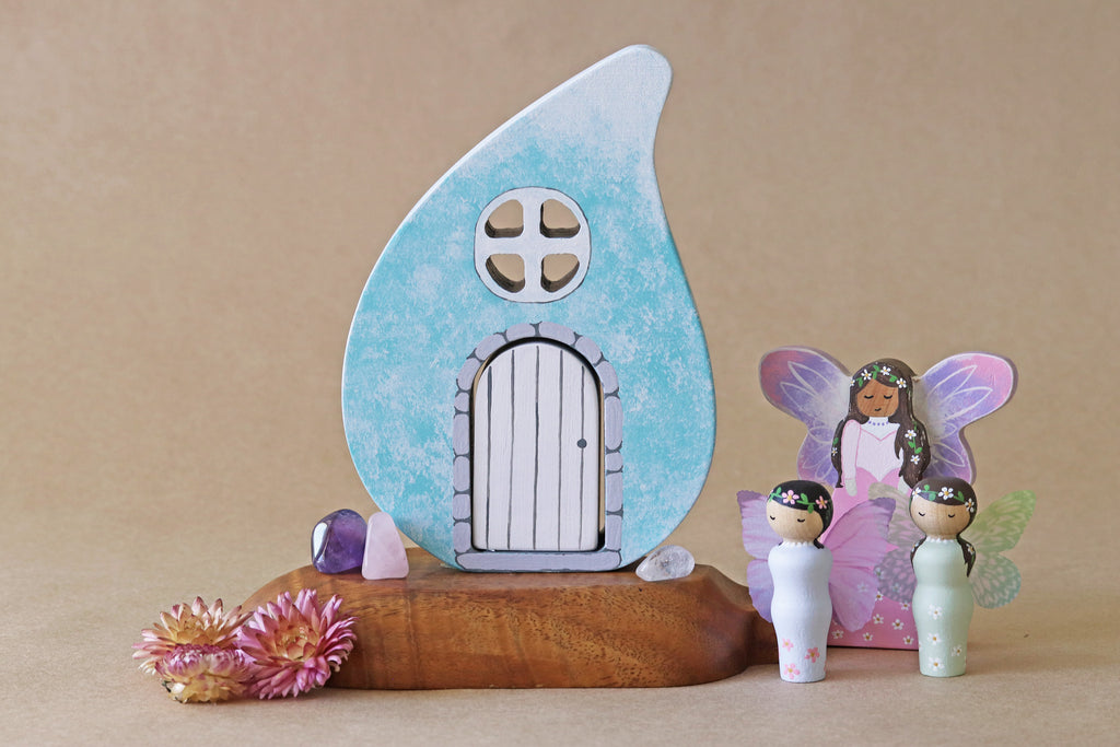 Rain Drop Fairy Cottage