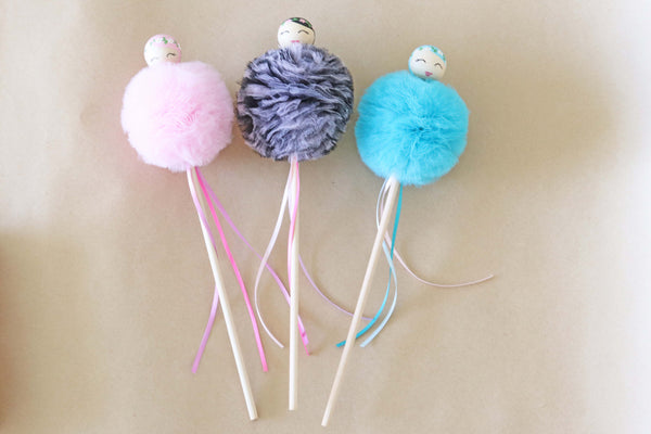 Tulle Fairy Wands - PRE ORDER