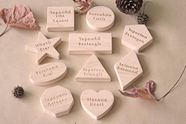 Bilingual Shape Blocks