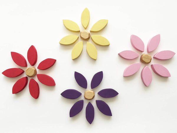 Flower Loose Parts / Blocks