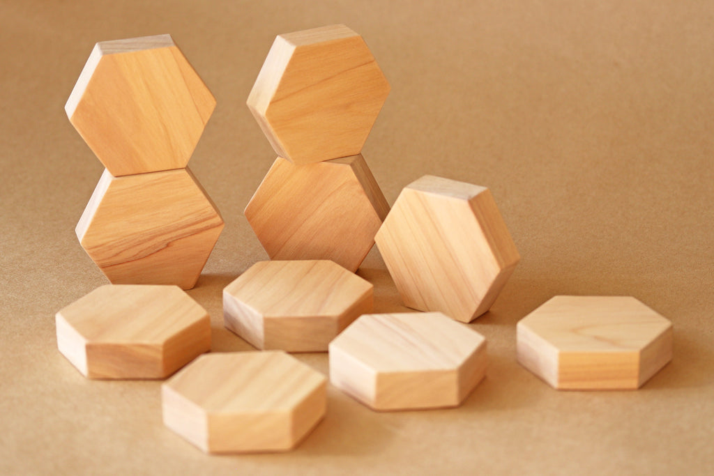 Hexagon Block Set (10) - DIY