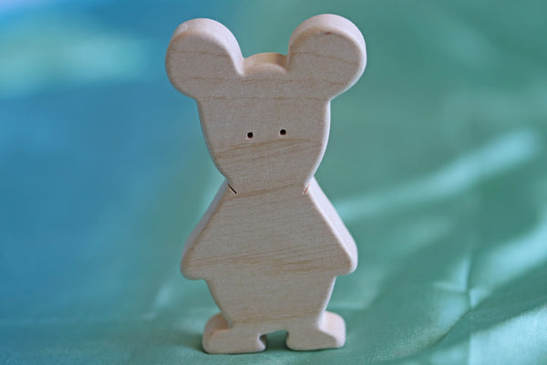 Wooden Mouse 2#