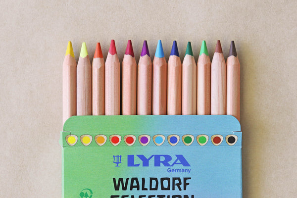 Lyra Waldorf Selection Coloured Pencils - Pack of 12
