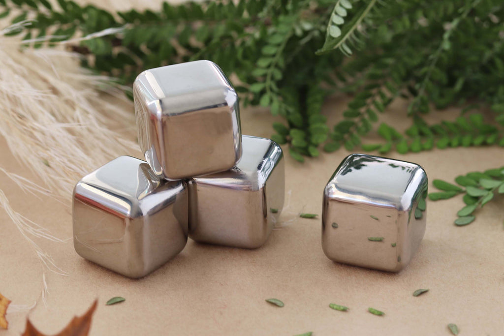 Stainless Steel Cube - small