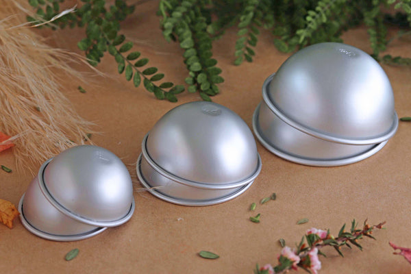 Metal Half Sphere set