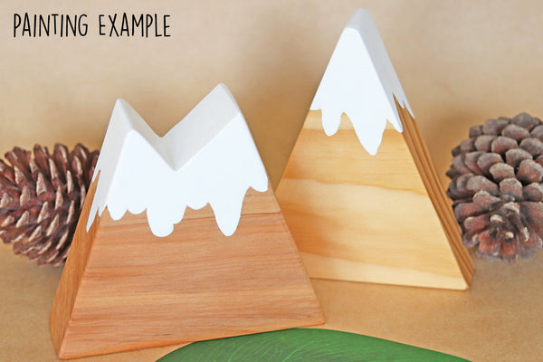 Mountain Ranges - DIY