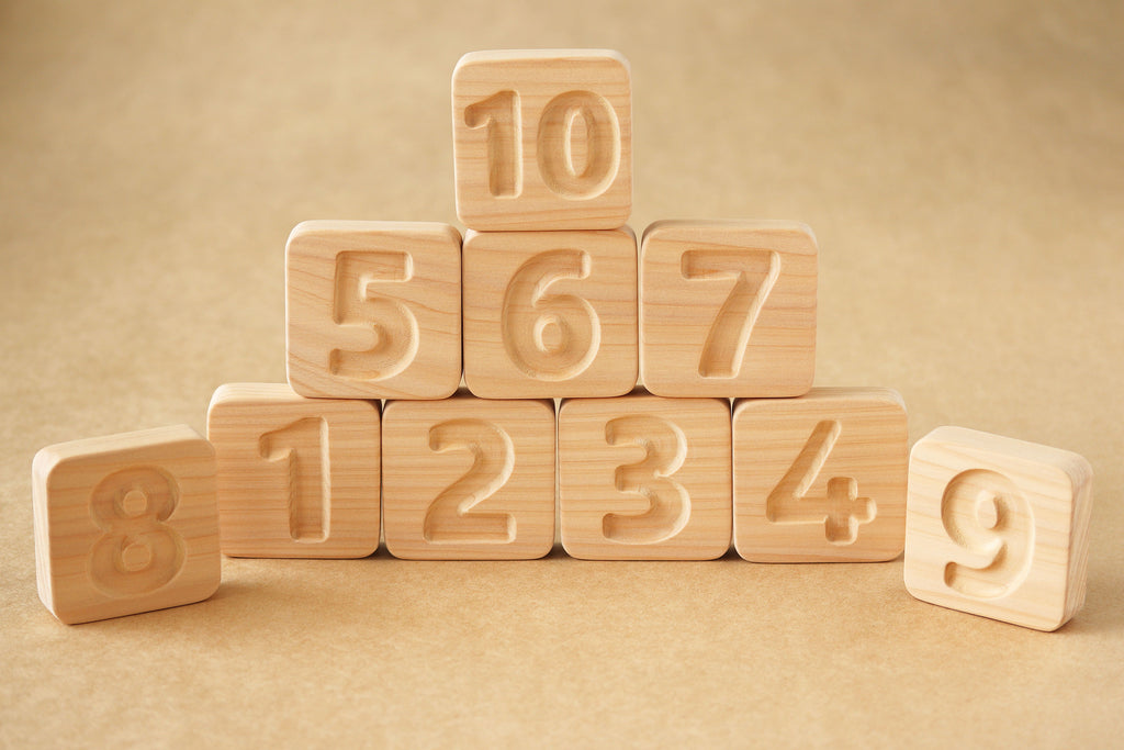 Bilingual Number Blocks 1 - 10