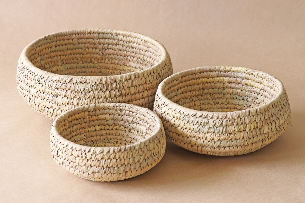 Round Baskets (set of 3)