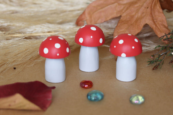 Mini Mushrooms/Toadstools