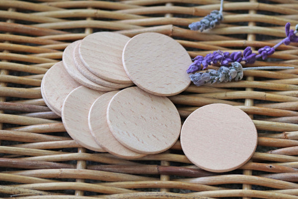 Wooden Coins Set - 5cm diameter